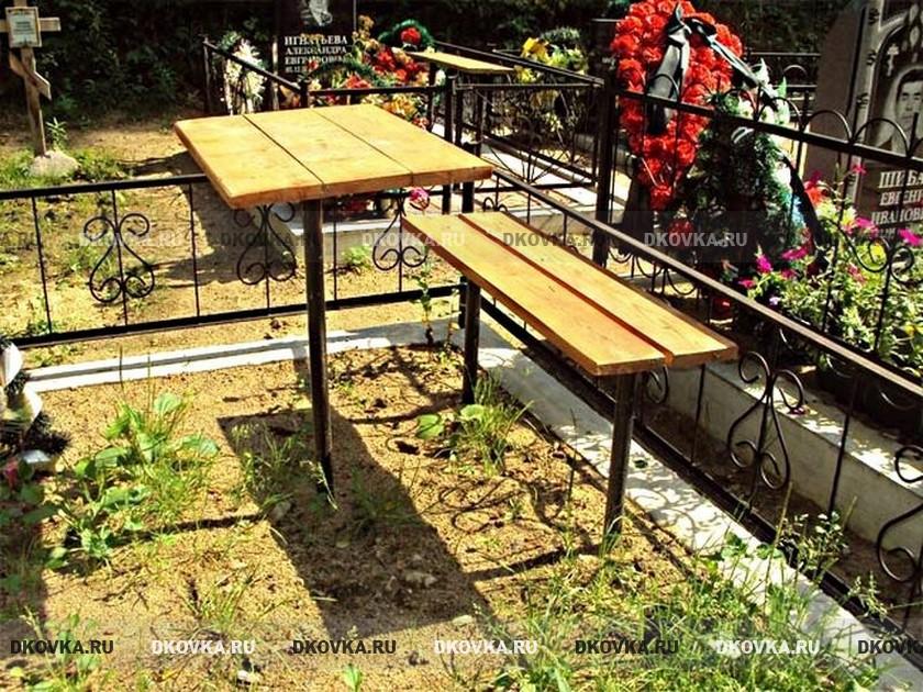 Как сделать столик на кладбище 863