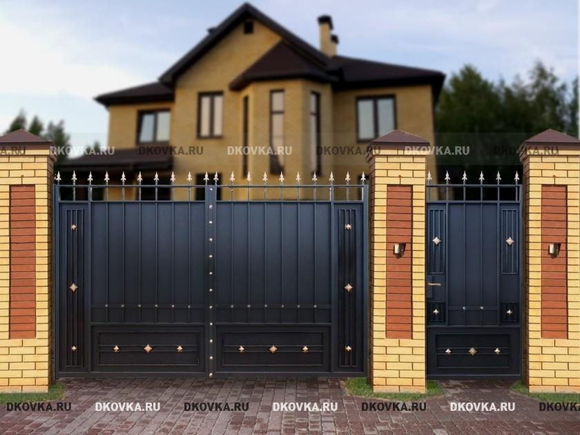 Каталог металлические ворот купить ворота для дома в судаке