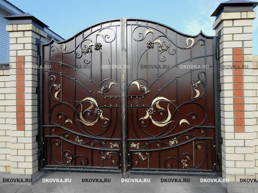 Каталоги сварных ворот автоматические ворота в астане r